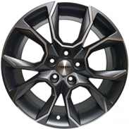 Диски BK5278 GREY POLISHED 5x112 ET-42 Ширина-7.0 Диаметр-17 Центр-57.1