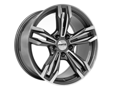 Диски BK707  GREY POLISHED 5x120 ET-30 Ширина-8.5 Диаметр-18 Центр-72.6