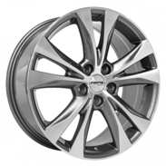 Диски BK970 GREY POLISHED 5x114.3 ET-45 Ширина-7.5 Диаметр-18 Центр-73.1