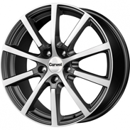 Диски Carwel Centaur  Black polished 5x114.3 ET-50 Ширина-7.0 Диаметр-17 Центр-67.1