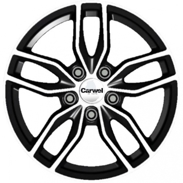 Диски Carwel Epsilon Black polished 5x114.3 ET-45 Ширина-6.5 Диаметр-16 Центр-67.1