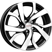 Диски KC668 Black-Diamond 5x114.3 ET-50 Ширина-6.0 Диаметр-15 Центр-60.1