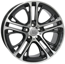 Диски STIGE6BM77  WSP Italy DIAMOND BLACK POLISHED 5x120 ET-25 Ширина-8.5 Диаметр-19 Центр-72.6
