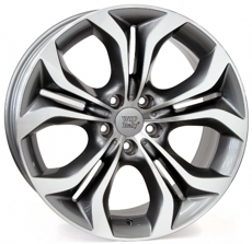 Диски TEBE6BM74 WSP Italy ANTHRACITE POLISHED 5x120 ET-46 Ширина-8.5 Диаметр-19 Центр-72.6