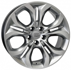 Диски TEBE6BM74 WSP Italy HYPER SILVER 5x120 ET-37 Ширина-9.0 Диаметр-19 Центр-74.1