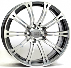 Диски W-670 M3 LUXOR WSP Italy ANTHRACITE POLISHED 5x120 ET-47 Ширина-7.5 Диаметр-18 Центр-72.6