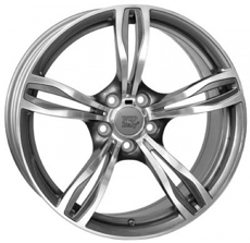 Диски W-679 DAYTONA M5 WSP Italy ANTHRACITE POLISHED 5x120 ET-39 Ширина-9.5 Диаметр-19 Центр-72.6