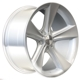 BK086 Silver (Rear+Front) 5x120 ET-14 Ширина-9.5 Диаметр-18 Центр-74.1