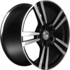 BK480 Matt Black Polished 5x130 ET-50 Ширина-9.5 Диаметр-20 Центр-71.6