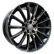 BK836 Matt Black Polished 5x112 ET-35 Ширина-8.0 Диаметр-17 Центр-66.6