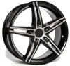Carwel Alpha Black Polished 5x114.3 ET-45 Ширина-7.0 Диаметр-17 Центр-67.1