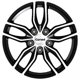 Carwel Epsilon Black polished 5x112 ET-46 Ширина-6.5 Диаметр-16 Центр-57.1