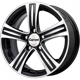Carwel Lambda Black polished 5x112 ET-43 Ширина-6.0 Диаметр-15 Центр-66.6