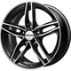 Carwel Tau Black polished 5x114.3 ET-45 Ширина-6.5 Диаметр-16 Центр-67.1