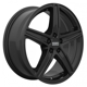 Fondmetal 8100 Matt Black 5x112 ET-42 Ширина-6.5 Диаметр-17 Центр-57.1