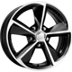 KC681 Focus ZV Black Diamond 5x108 ET-50 Ширина-6.5 Диаметр-16 Центр-63.35