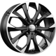KC740 ZV Octavia Black Polish 5x112 ET-50 Ширина-7.0 Диаметр-17 Центр-57.1