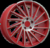 Keskin Tuning KT17 (max load:690kg) MATT RED FRONT POLISH 5x112 ET-45 Ширина-8.5 Диаметр-19 Центр-72.6