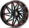 Keskin Tuning KT20 (max load: 690kg) MATT BLACK RED INSIDE 5x108 ET-45 Ширина-8.5 Диаметр-19 Центр-72.6