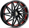 Keskin Tuning KT20 (max load: 690kg) MATT BLACK RED INSIDE 5x112 ET-30 Ширина-8.5 Диаметр-19 Центр-72.6