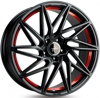 Keskin Tuning KT20 (max load:790kg) BLACK PAINTED RED INSIDE 5x120 ET-35 Ширина-8.5 Диаметр-20 Центр-72.6