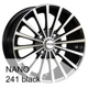 Nano 241 DEMO (only 3 pcs) Black polished 5x114.3 ET-38 Ширина-7.0 Диаметр-16 Центр-71.6