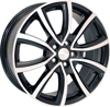 Skad Ontario Black polished 5x100 ET-48 Ширина-7.0 Диаметр-17 Центр-56.1