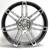 W-557 (AU-57 Palma5) WSP Italy ANTHRACITE POLISHED 5x112 ET-40 Ширина-7.0 Диаметр-16 Центр-57.1