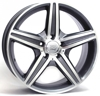 W-758 AMG CAPRI WSP Italy ANTHRACITE POLISHED 5x112 ET-35 Ширина-8.0 Диаметр-17 Центр-66.6