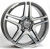 W-759 AMG Vesuvio (TEXAS7ME59) WSP Italy ANTHRACITE POLISHED 5x112 ET-43 Ширина-9.5 Диаметр-19 Центр-66.6