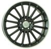 W773 SHANGHAI WSP Italy DULL BLACK R POLISHED 5x112 ET-54 Ширина-9.0 Диаметр-19 Центр-66.6
