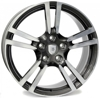 WZ1054 WSP Italy ANTHRACITE POLISHED 5x130 ET-57 Ширина-10.5 Диаметр-21 Центр-71.6
