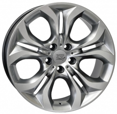 Диски TEBE6BM74 WSP Italy HYPER SILVER 5x120 ET-48 Ширина-9.5 Диаметр-19 Центр-72.6