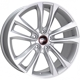 LegeArtis B162 Silver Front Polished 5x120 ET-21 Ширина-10.0 Диаметр-19 Центр-72.6