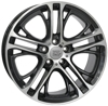 STIGE6BM77  WSP Italy DIAMOND BLACK POLISHED 5x120 ET-41 Ширина-9.0 Диаметр-19 Центр-72.6